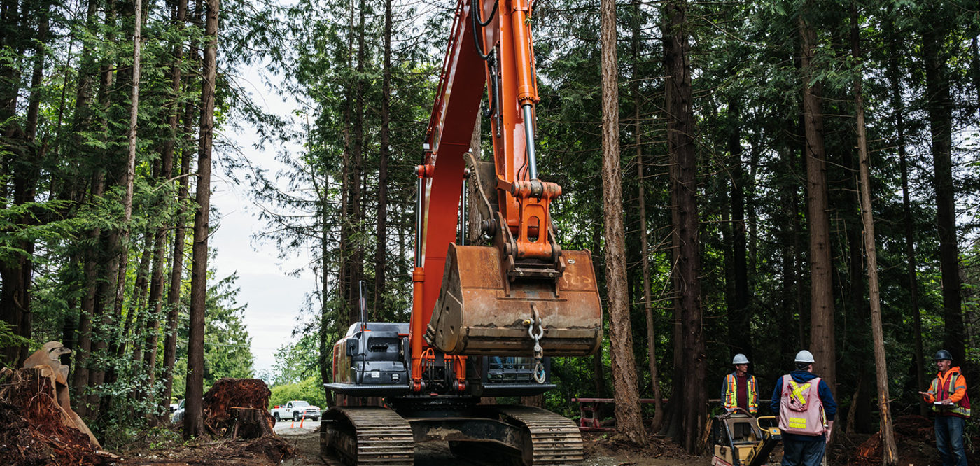 IWC Excavation - Safe Civil Construction and Road Building Work in Remote Forested Areas of BC
